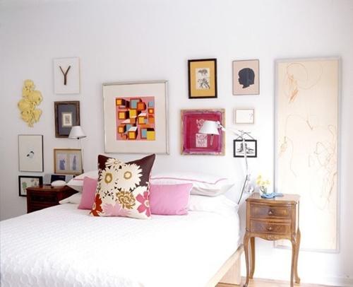 14 ideas para decorar el dormitorio deco ideando - Que cuadros poner en el dormitorio ...