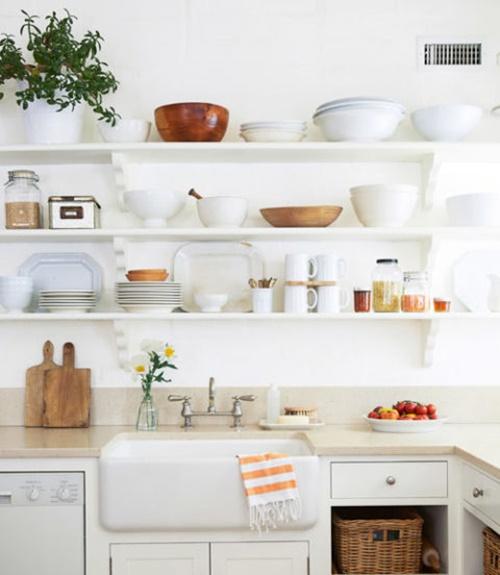 decoracion cocina - cocinas en blanco