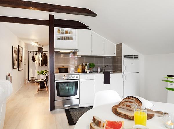 decorar cocina apartamento pequeño