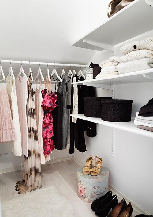 idea de armario estudio pequeño