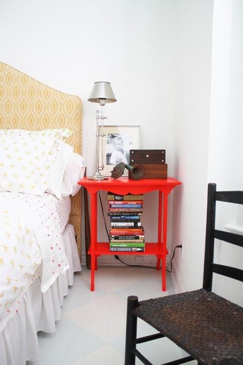 mesillas de colores para habitacion