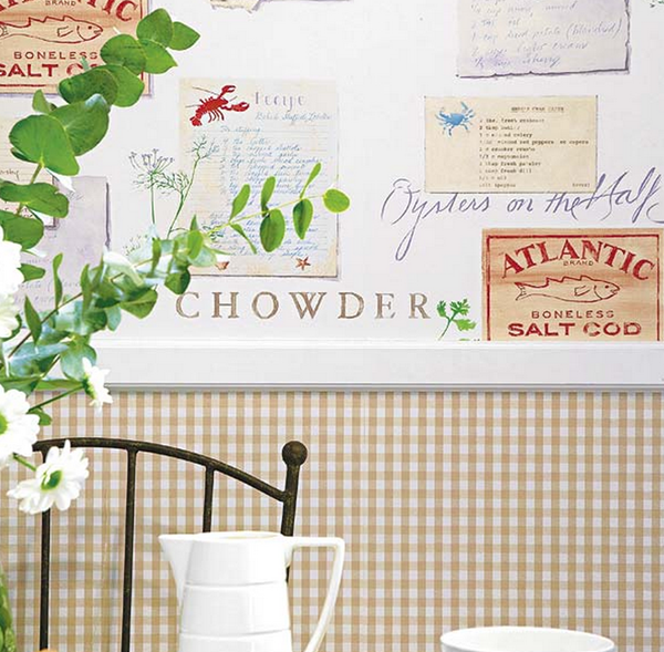 Papel para cocina ms de ideas increbles sobre papel pintado para cocinas en pinterest pared - Papel pared cocina ...